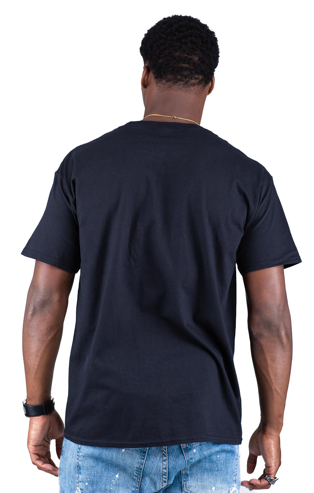 Jaza Fashion Jaza Fashion Herren T-Shirt in Black
