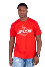 Jaza Fashion Jaza Fashion Herren T-Shirt in Rot