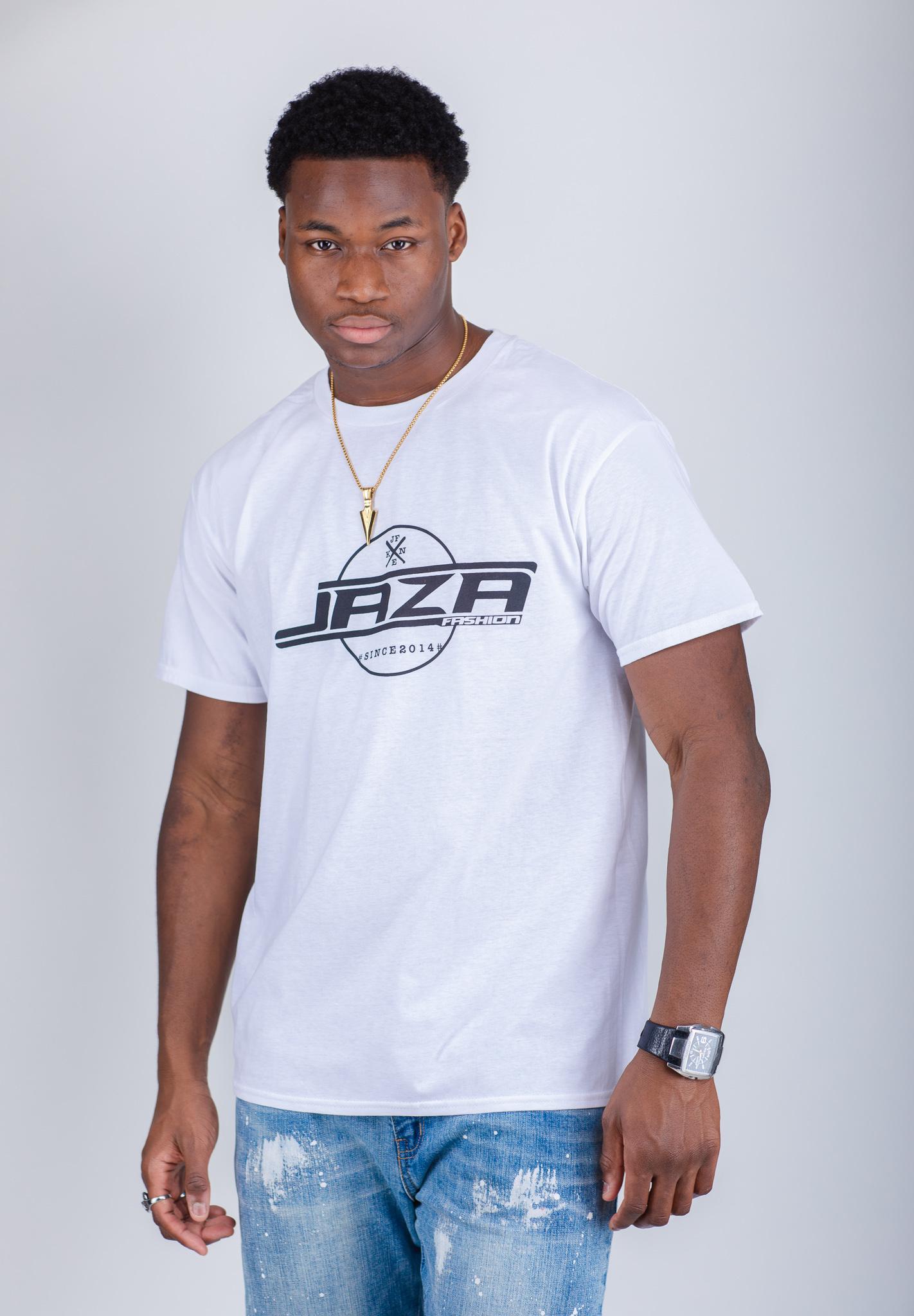 Jaza Fashion Jaza Fashion Herren T-Shirt in Weß