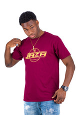 Jaza Fashion Jaza Fashion Herren T-Shirt in Bordeaux Red