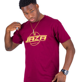 Jaza Fashion Jaza Fashion T-Shirt en Rouge Bordeaux