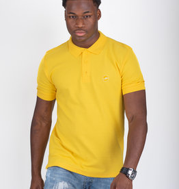 Jaza Fashion Jaza Fashion Polo shirt Black Yellow