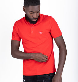 Jaza Fashion Jaza Fashion Polo shirt Rot