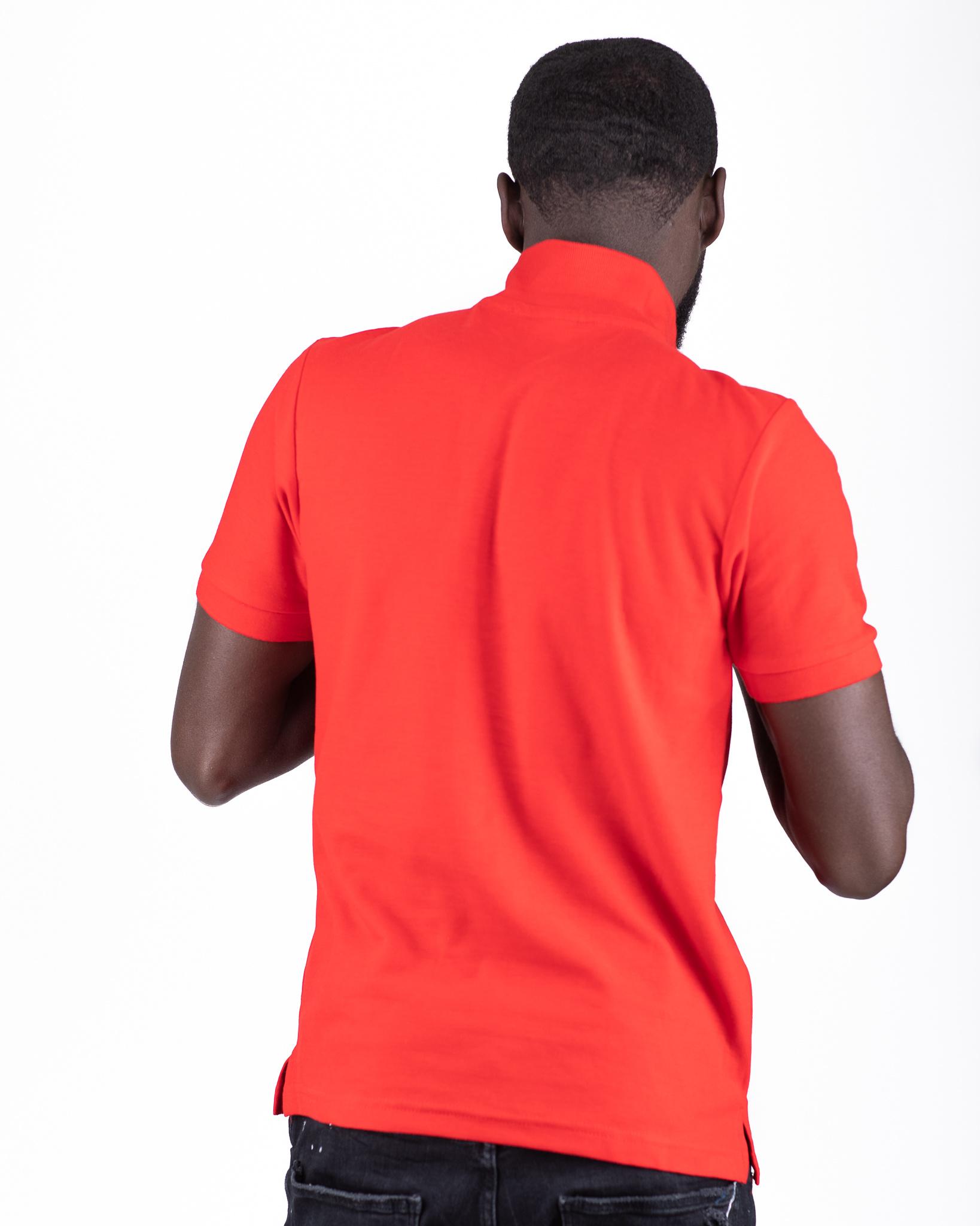 Jaza Fashion Jaza Fashion Polo shirt Red