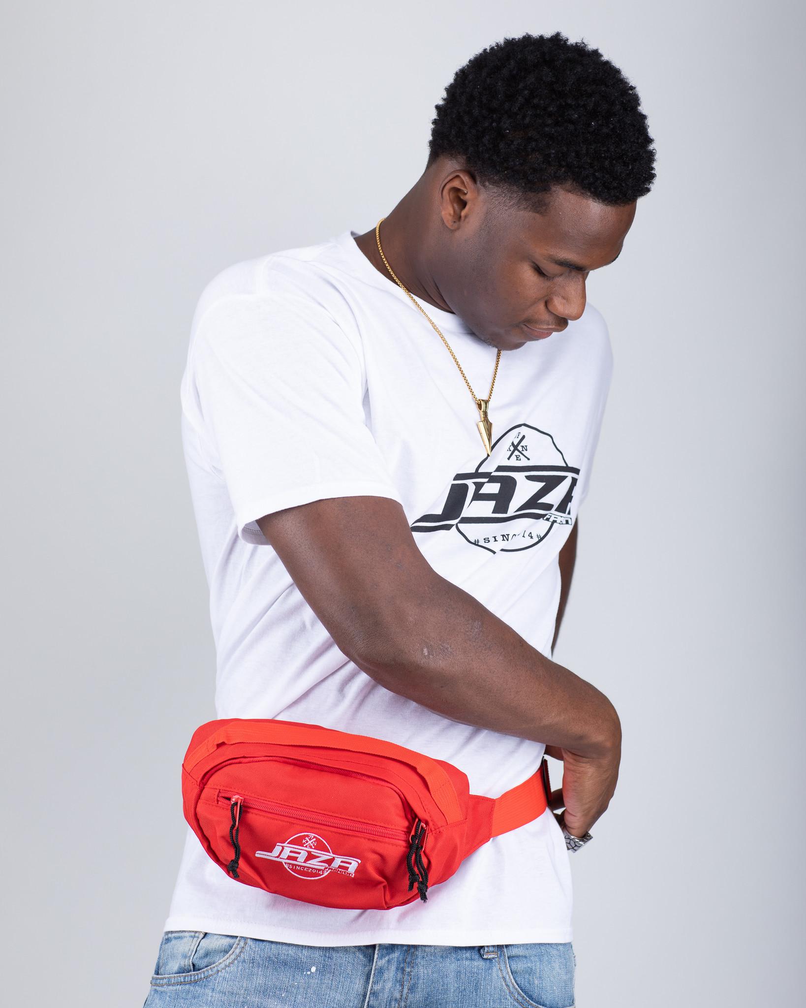 Jaza Fashion Jaza Fashion Crossbody bag in Red