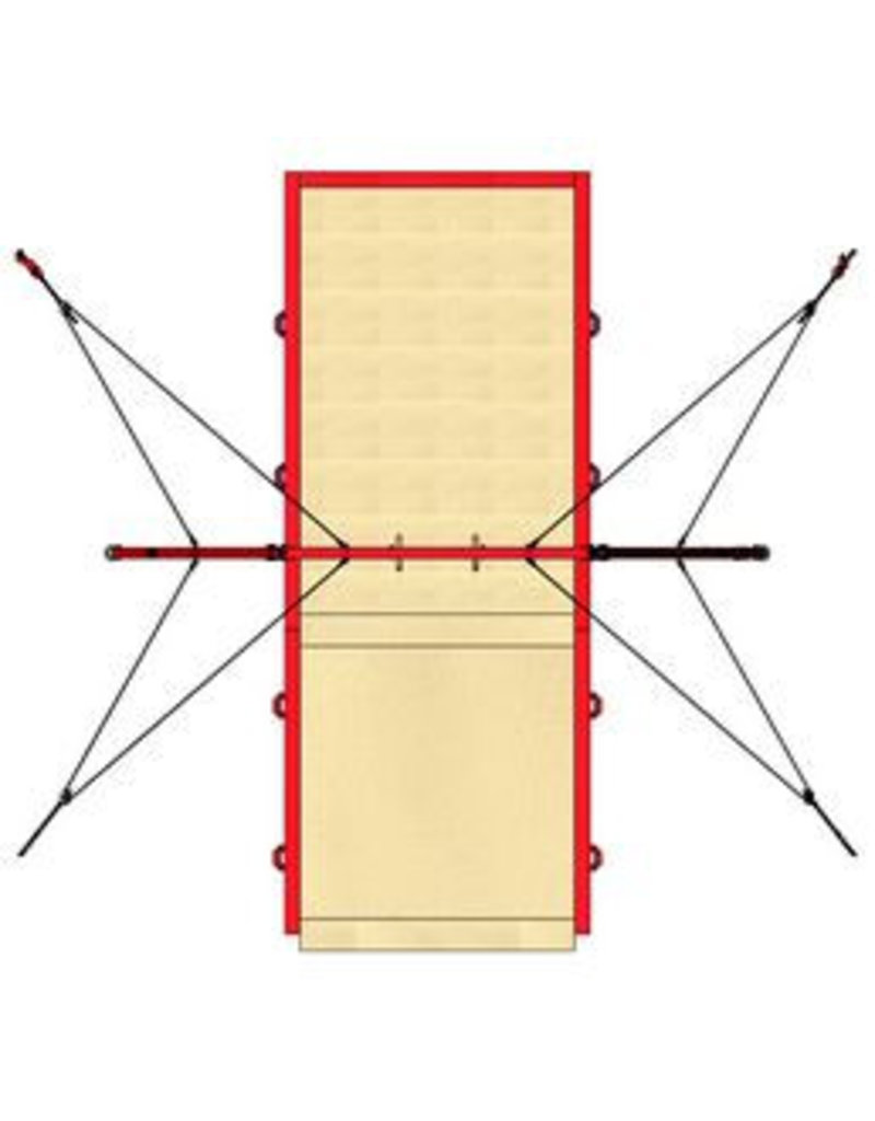 Gymnova Configuratie mat ringen wedstrijd
