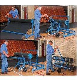 50180 - Oproltransportwagen incl. halve maanwagen voor Bateco vloerbeschermingsmatten