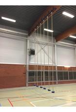 Klimtouw-installatie