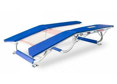 Dubbele mini-trampolines