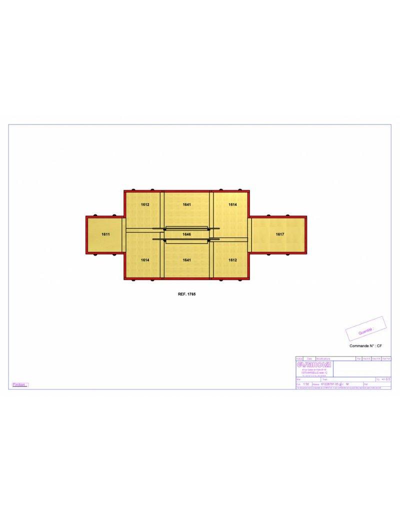 Gymnova Configuratie mat herenbrug