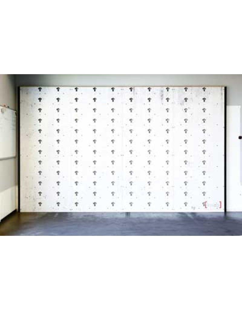 CS 400023 - Multifunctionall wall 2.4m x 1m gepersonaliseerd