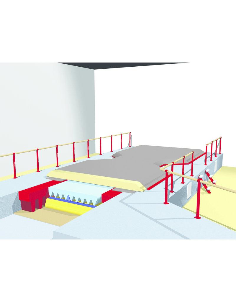 Gymnova Ref. 7099 - Opbouw valkuil met ingebouwd podium
