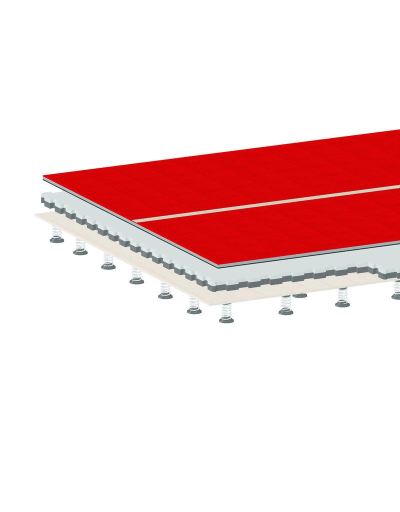 Gymnova Ref. 6183 - Tumblingbaan met tapijt