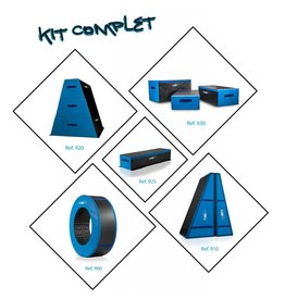 Gymnova Ref. 940 - Compelete set van alle Urban Gym modules