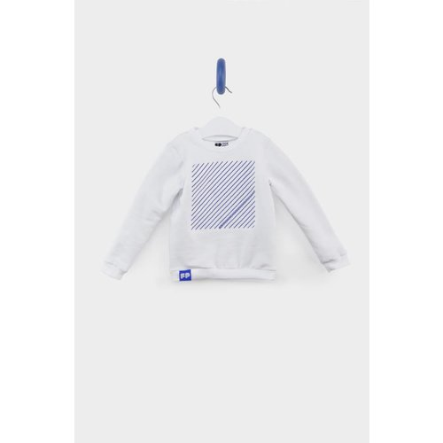 From Paris UNISEX WHITE SWEATSHIRT
