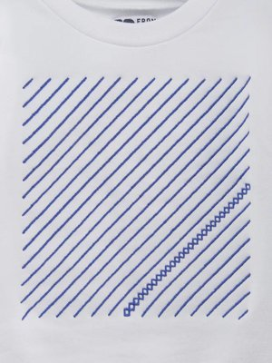 From Paris UNISEX SWEATSHIRT × WHITE / BLUE