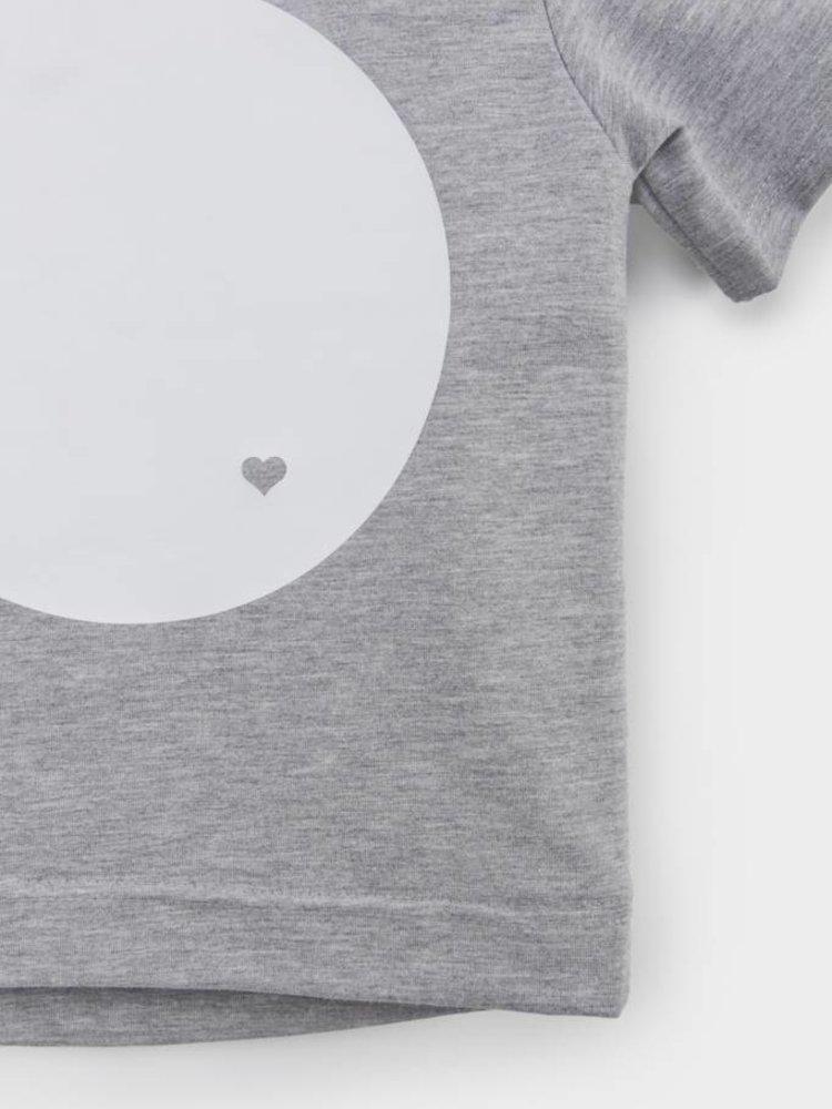 From Paris UNISEX T-SHIRT × GREY / WHITE