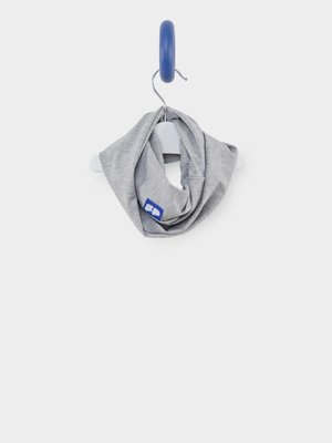 From Paris UNISEX GREY SCARF