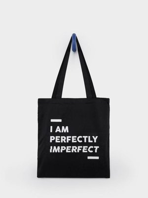 From Paris TOTEBAG 'I AM PERFECTLY IMPERFECT'