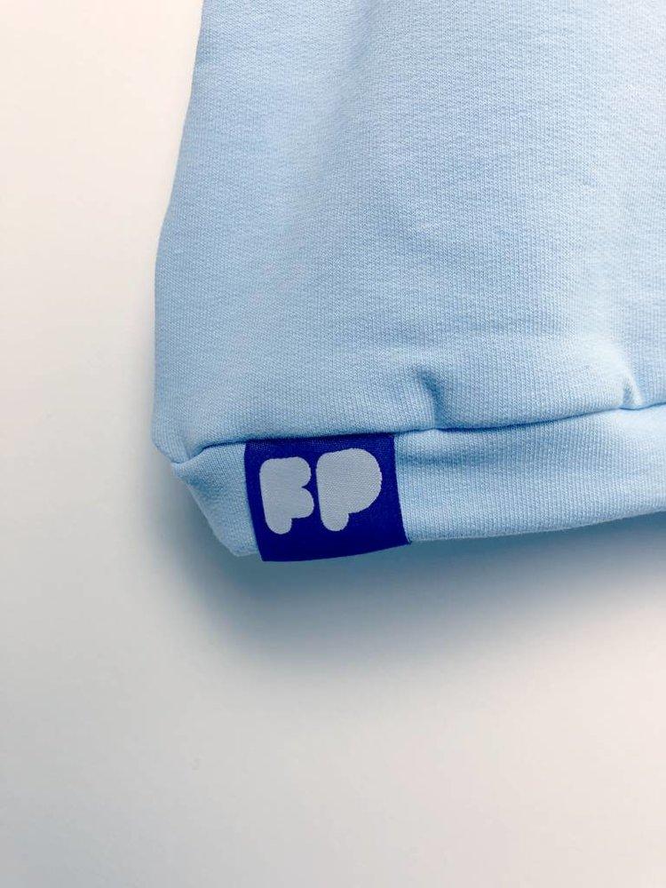 From Paris BOY ZIPPER SWEATSHIRT × BLUE