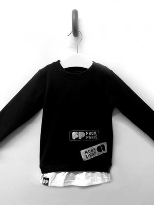 From Paris LIMITED EDITION - BLACK SWEATER