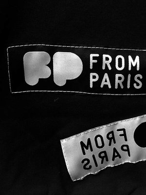 From Paris LIMITED EDITION - BLACK LABEL SWEATER