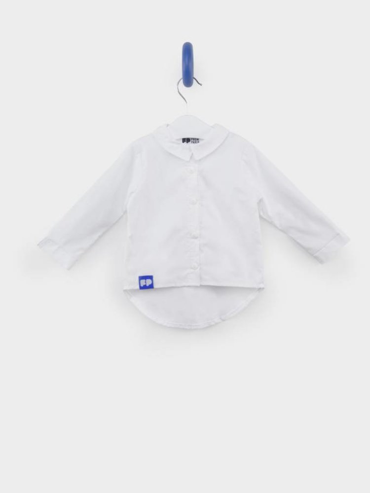 From Paris PERSONALIZED - GIRL WHITE SHIRT