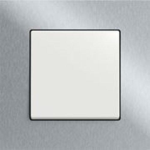 Carat edelstaal/wit
