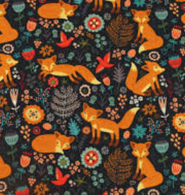 Fuchs dunkelblau
