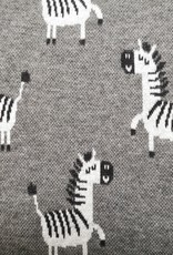 Zebra Strickstoff