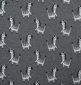 Zebra - Strickstoff