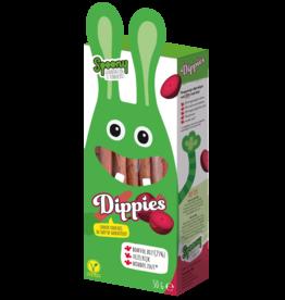 Spoony Dippies - knapperige dipstokjes met 25% biet