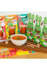 3 x tomaat/paprika Spelletjes Soep en 3 x Dippies met 20% korting!
