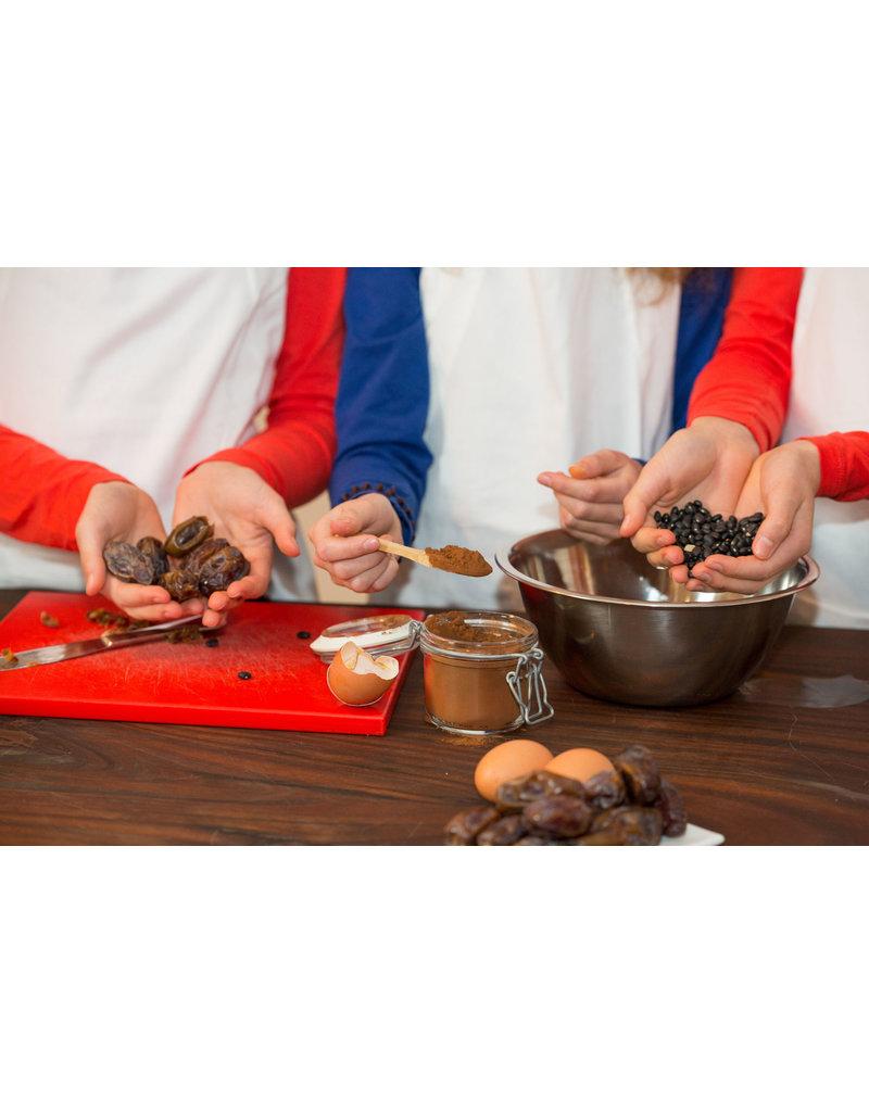 Kids zelf aan de slag met een gezonde brownie