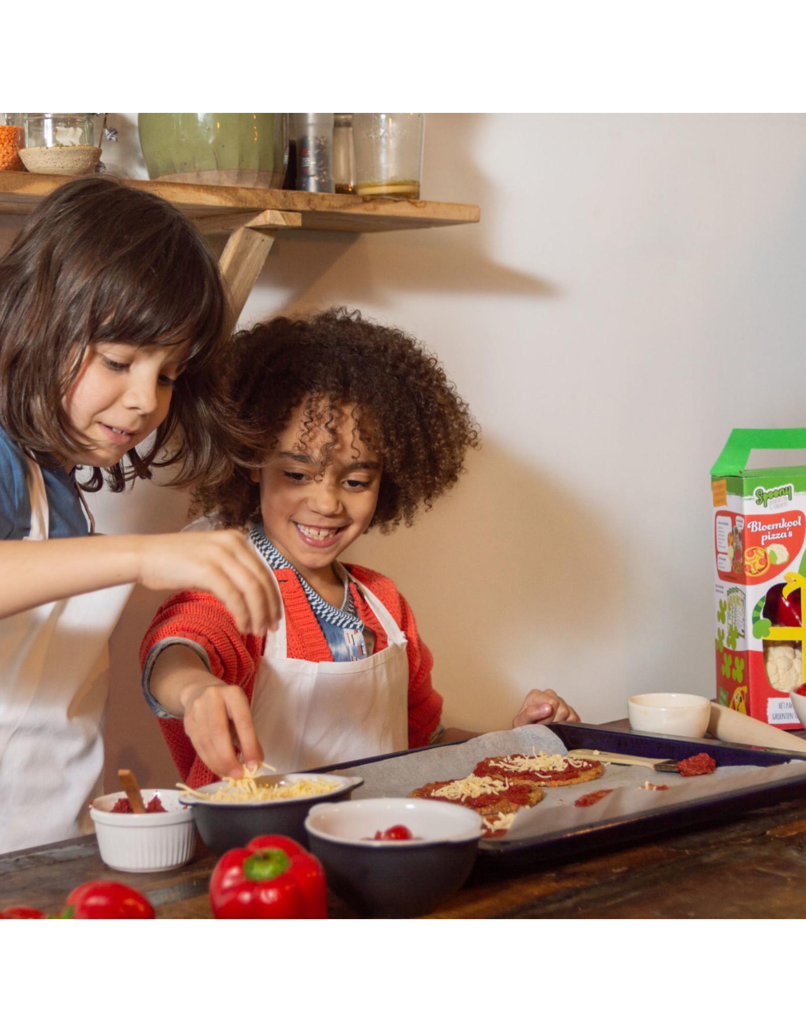 Kids zelf aan de slag voor 3 supergezonde pizza!
