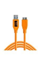 TetherTools TetherTools TetherPro USB3 to Micro-B, 15' (4,6m) - orange