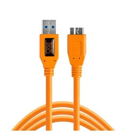 TetherTools TetherTools TetherPro USB3 to Micro-B, 15' (4,6m) - orange