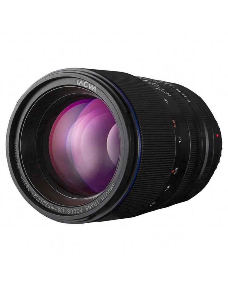 Laowa Venus LAOWA 105mm f/2 Smooth Trans Focus Lens - Nikon AI