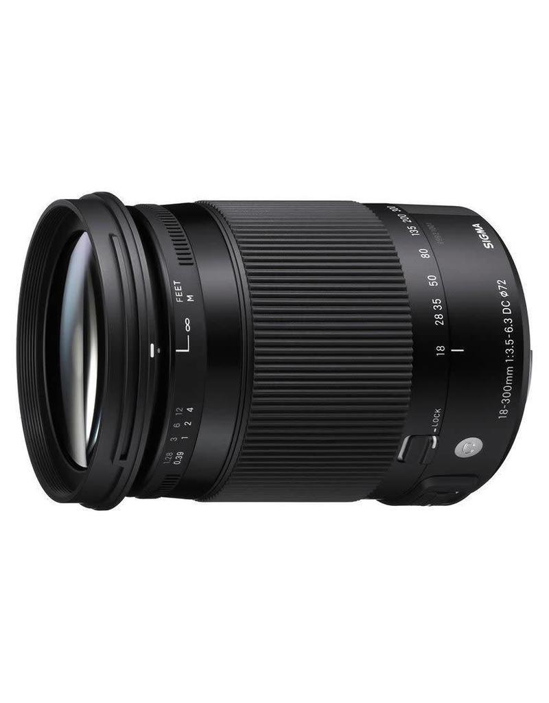Sigma Sigma 18-300mm F3.5-6.3 DC Macro OS HSM (C) Canon