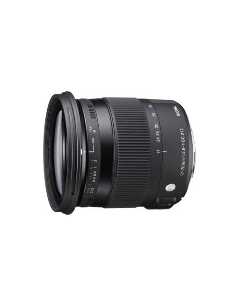Sigma Sigma 17-70/2.8-4 DC MACRO OS HSM (C) Nikon