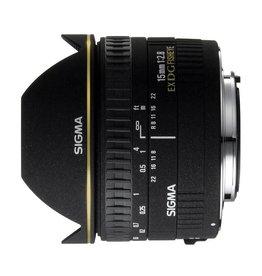 Sigma Sigma 15mm F2.8 EX DG Diag. Fisheye Nikon-D AF