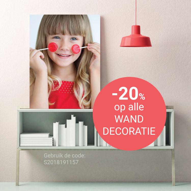 Spector wanddecoratie: 20% korting