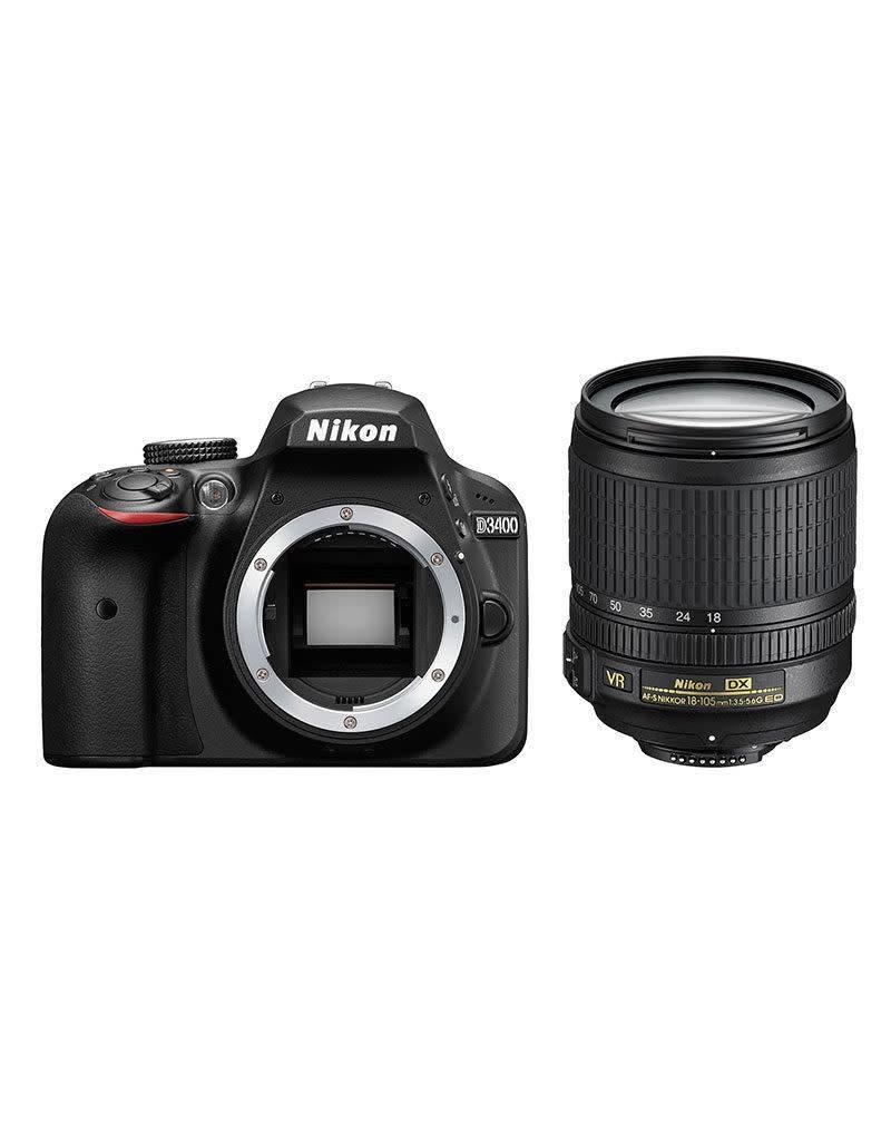 Nikon Nikon D3400 Kit AF-S DX 18-105 VR