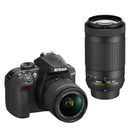 Nikon Nikon D3400 Kit AF-P 18-55 VR + AF-P 70-300 VR