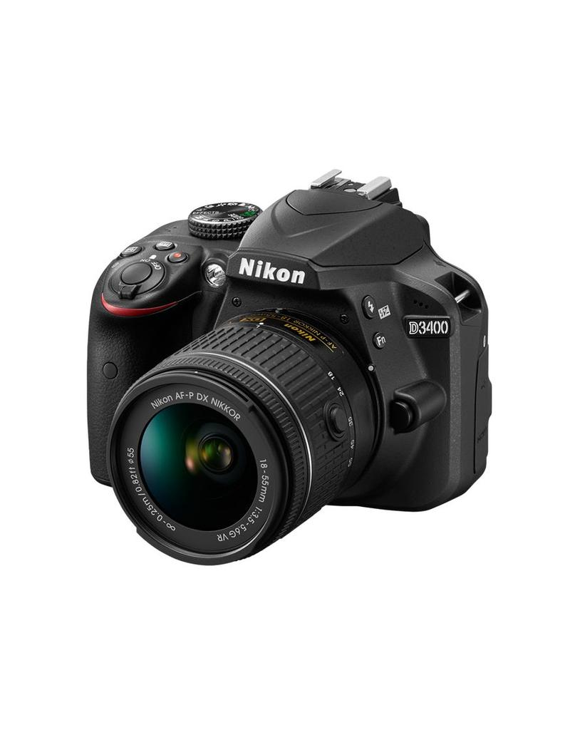 Nikon Nikon D3400 Kit AF-P 18-55 VR