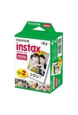 Fuji Fuji Instax Mini Colorfilm Glossy 10x2 pak