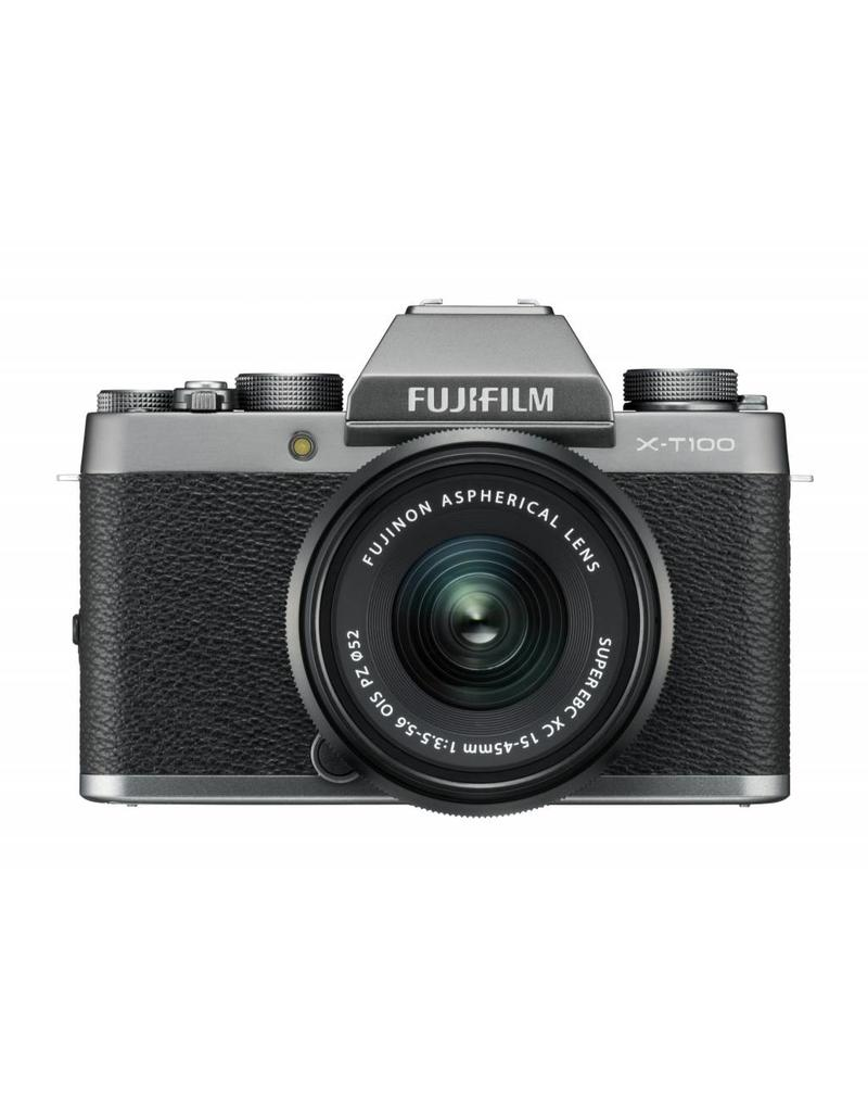 Fujifilm Fujifilm X-T100 Dark Silver KIT + XC15-45mm