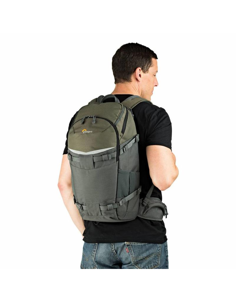 Lowepro Lowepro Flipside Trek BP 350 AW Grey/Dark Green