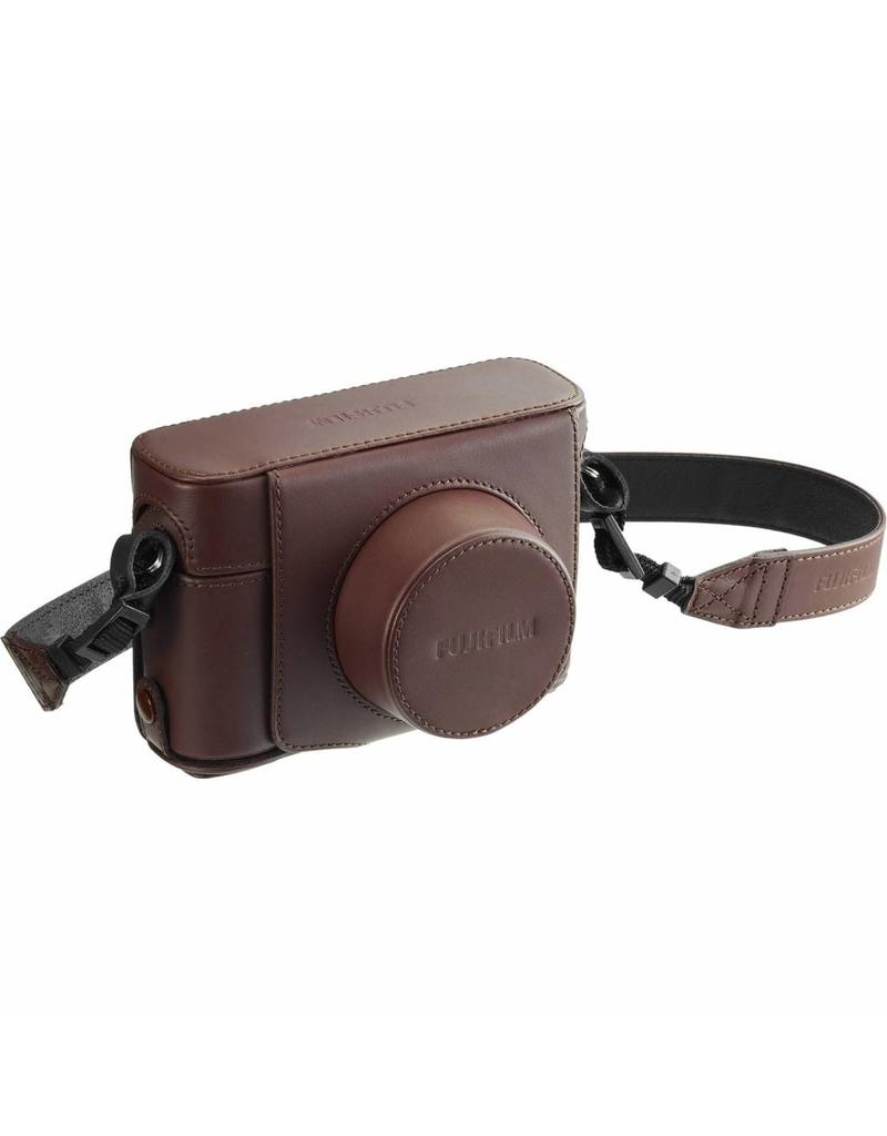 Fujifilm Fujifilm LC-X100F Brown Tas