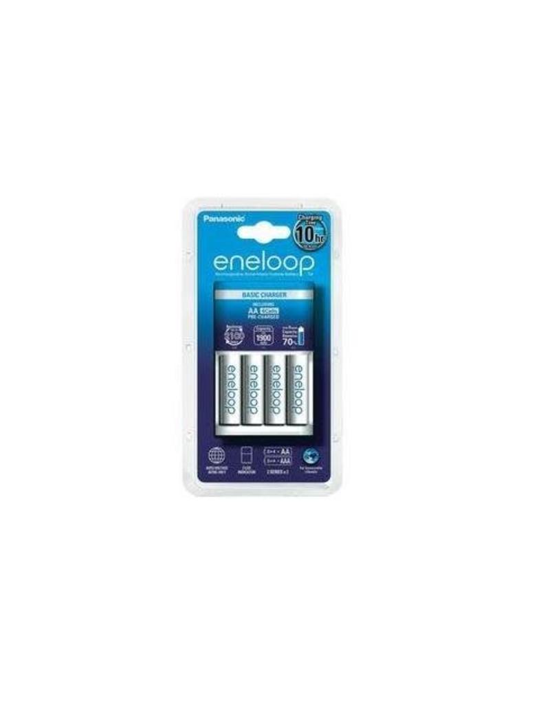 Eneloop Eneloop MQN04 Lader + 4x AA 1900MaH